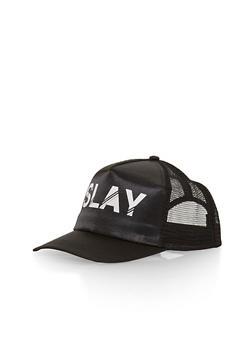 Slay Graphic Trucker Hat - 1129067447030
