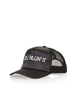 Still Killin It Graphic Trucker Hat - 1129067447033
