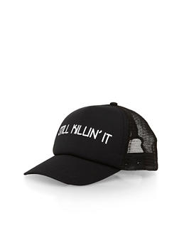 Still Killin It Graphic Trucker Hat - 1129067447039