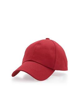 Side Zipper Baseball Hat - 1129067447132