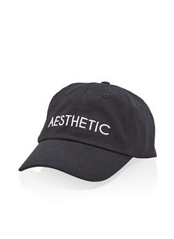 Aesthetic Embroidered Baseball Cap - 1129073335121