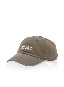 GOAT Embroidered Baseball Cap - 1129073335170