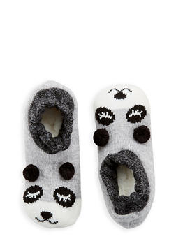 Knit Critter Slipper Socks - 1130055321005