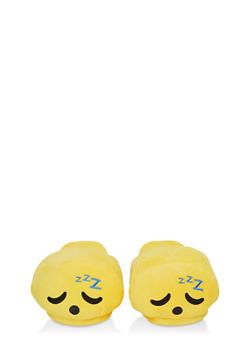 Sleeping Emoji Slippers - 1130074233302