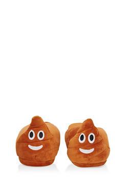 Poop Emoji Slippers - 1130074233303