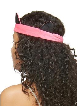 Soft Stretchy Cat Ears Headband - 1131063091108