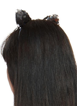 Reversible Sequin Cat Ears - 1131063091962