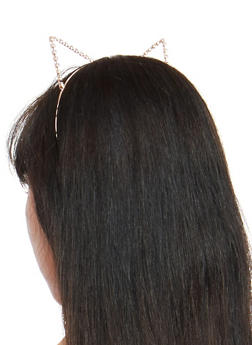 Rhinestone Cat Ears - 1131063094088