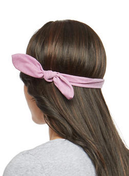 Knotted Stretch Headband - 1131063098025