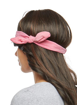 Knotted Stretch Headband - 1131063098025
