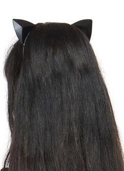 Prism Cat Ears Headband - BLACK - 1131074171502