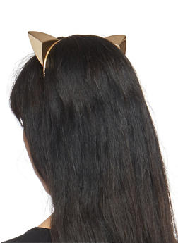 Prism Cat Ears Headband - GOLD - 1131074171502