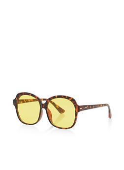 Oversized Lens Glasses - 1133073215041