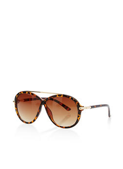 Criss Cross Top Bar Sunglasses - 1133073217193