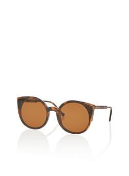 Plastic Cat Eye Sunglasses - 1134004265478