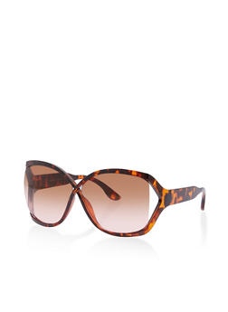 Large Criss Cross Sunglasses - 1134004265500