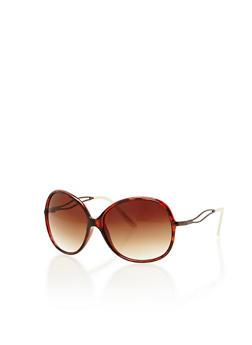 Oversized Oval Sunglasses - 1134004269084