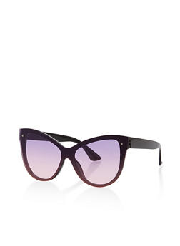 Colored Cat Eye Sunglasses - 1134056170473