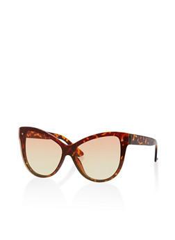 Colored Cat Eye Sunglasses - 1134056170473