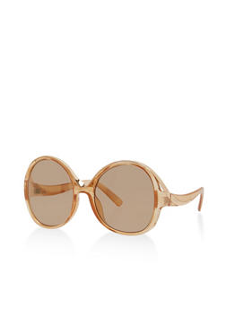 Oversized Round Sunglasses - 1134056175633