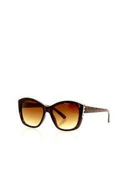 Studded Edge Sunglasses - 1134071210397