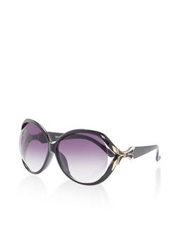 Large Open Side Sunglasses - 1134071225433