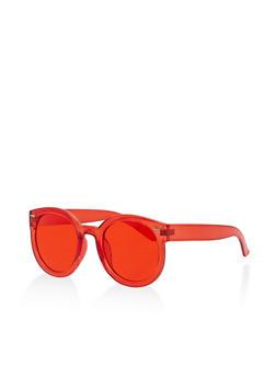 Round Colored Sunglasses - 1134073217010