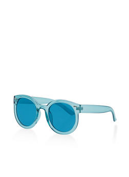 Round Colored Sunglasses - 1134073217010