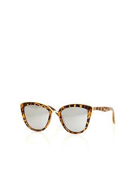 Top Bar Cat Eye Sunglasses - 1134073217340