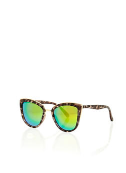 Top Bar Cat Eye Sunglasses - 1134073217340