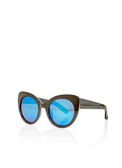 Oversized Cat Eye Sunglasses - 1134073928812