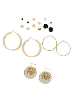Assorted Earring Set - 1135035152254