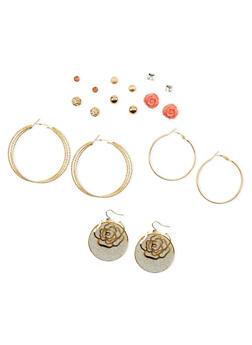 Assorted Earring Set - 1135035152254