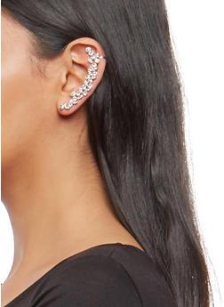 Rhinestone Ear Cuff - 1135057690610