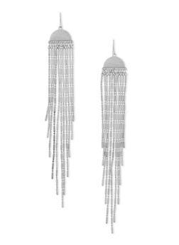 Fringed Chandalier Earrings - 1135062920754