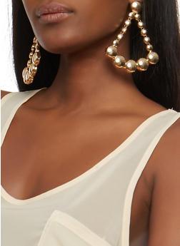 Open Triangle Earrings - 1135062924555