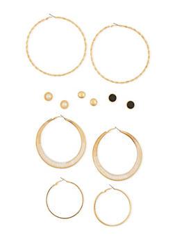 Assorted Earrings Set of 6 - 1135062927482