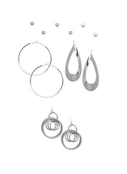 Set of 6 Assorted Earring Set - 1135062927705
