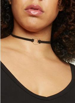 Assorted Trio Choker Necklace Set - 1138035150933
