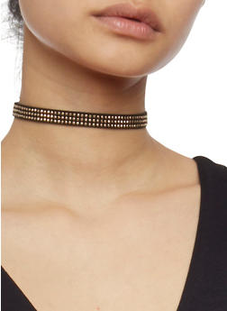 Set of 3 Choker Necklaces - 1138044098490