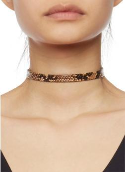 Set of 5 Choker Necklace Set - 1138044098506