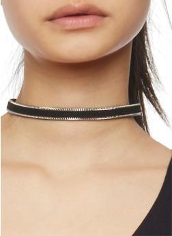 Trio Choker Necklace Set - 1138062815537