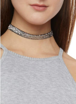 Trio Choker Set with Assorted Earrings Set of 6 - 1138062925071