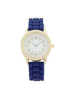 Floating Rhinestone Watch - COBALT - 1140071432929