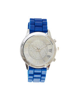 Glitter Face Watch - NAVY - 1140071435268