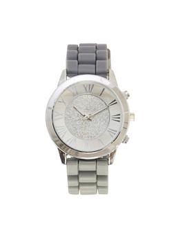 Glitter Face Watch - GREY - 1140071435268
