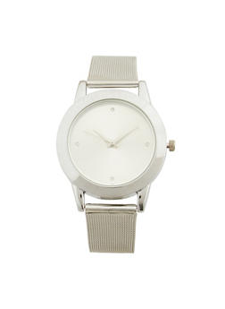 Metal Mesh Strap Watch - 1140071438041