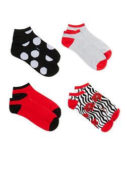 Set of 4 Ankle Socks - 1143041451319