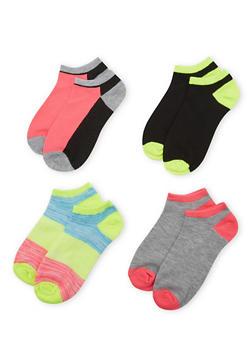 4-Pack of Ankle Socks - 1143041453716