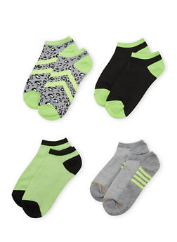 4-Pack of Ankle Socks - 1143041454016